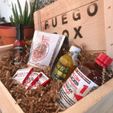 Fuego Loco Crate - Extra Spicy Hot Sauce Gift Box