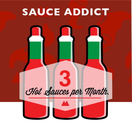SAUCE LOVER - QUARTERLY SUBSCRIPTION PREPAY 1 QUARTERS 3-box-monthly