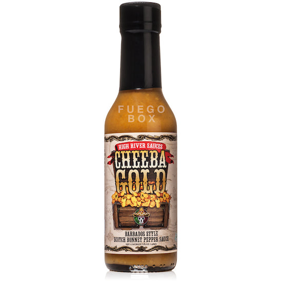 High River Sauces Cheeba Gold Hot Sauce