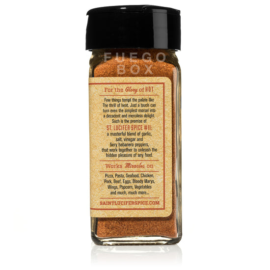 Saint Lucifer Habanero Table Spice Seasoning