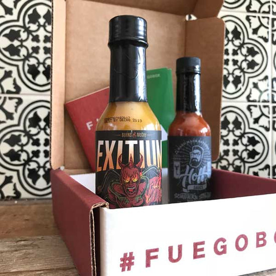 2-Bottle Monthly Extra Hot Sauce Subscription Prepay 3 Months