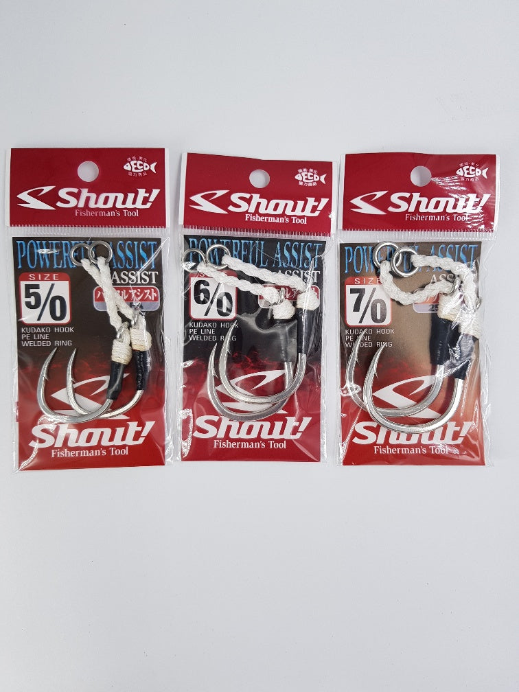 Shout Powerful Assist Kudako Jigging Hooks