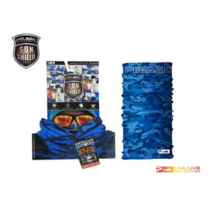 SPF Sunshield Fish Camo II - Blue (792IIB)