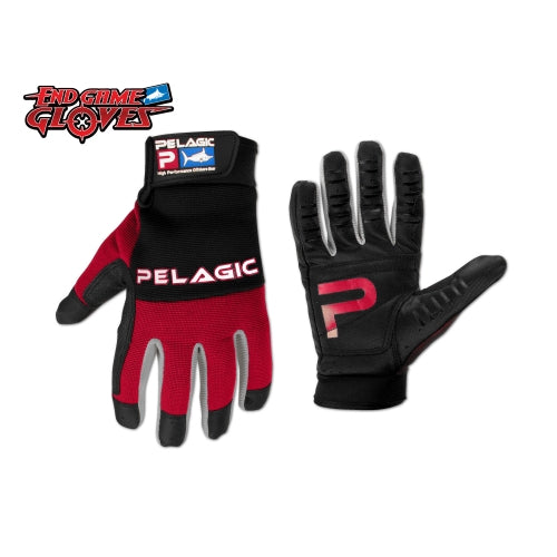 End Game Gloves -Red (992R)
