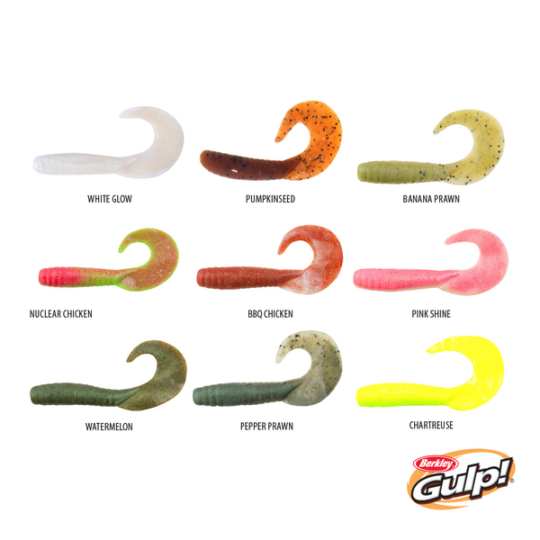 "Berkley Gulp Saltwater Jigging Grub 4""/10cm"