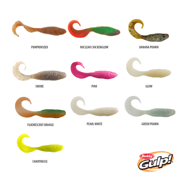 "Berkley Gulp Saltwater Jerk Shad 5""/13cm Doubletail Swimming Mullet 4""/10cm"