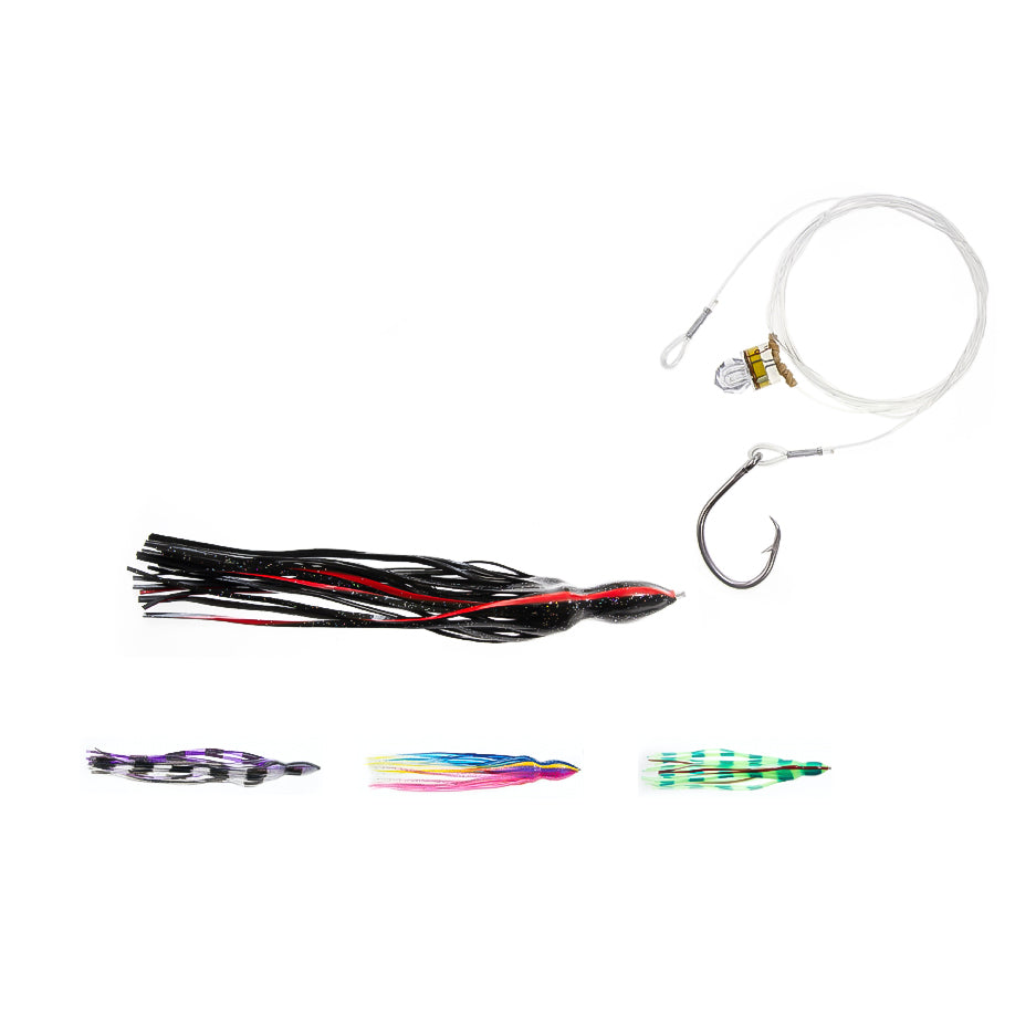 SwordPro Circle Hook Broadbill Rig with Skirt