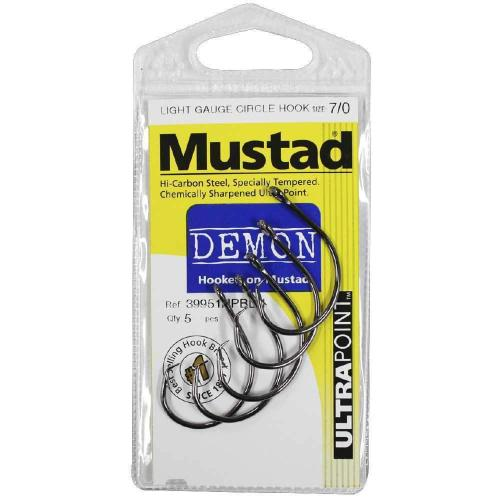 Mustad Light Gauge Circle Hook Small Pack