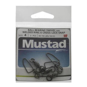 Mustad Ball Bearing Snap Swivel