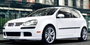 White 2007 VW Rabbit