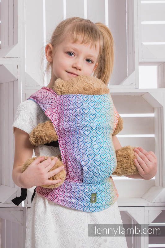 LennyLamb Doll Carrier - Big Love Rainbow