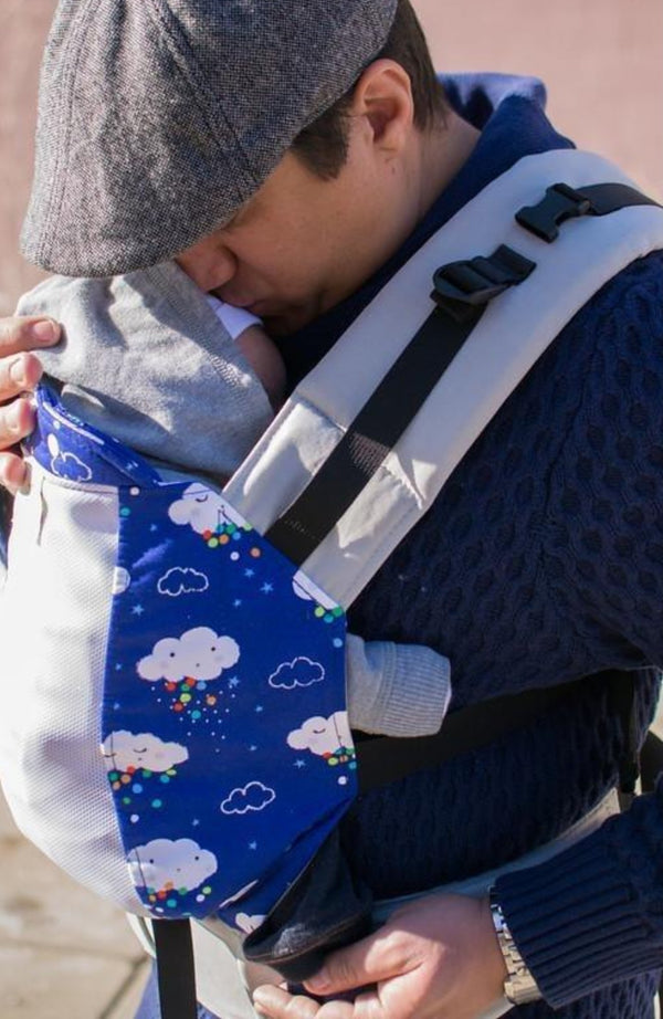 Baby Carriers Canada Ergonomic Babywearing Kinderpack Happy Little Clouds