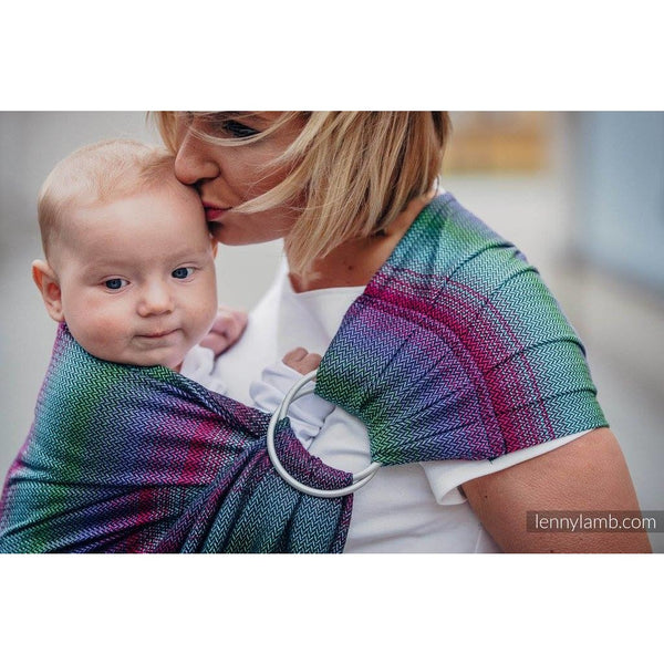 lenny lamb herringbone impression dark ring sling