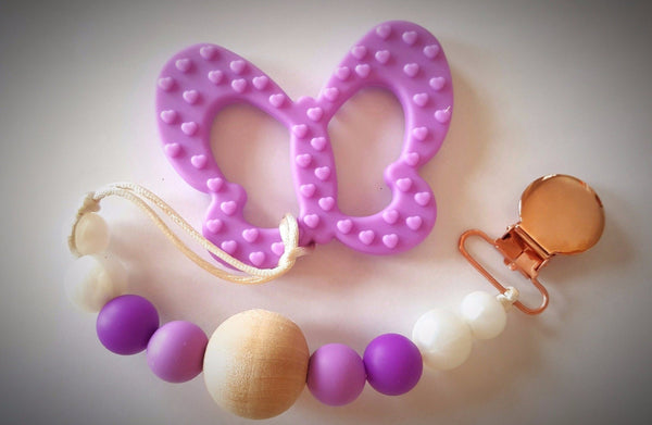 Little leader chewables butterfly teether purple canada