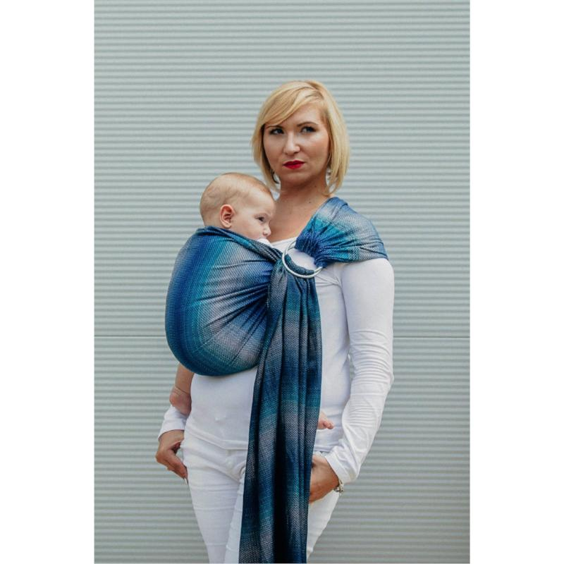 lenny lamb herringbone illusion ring sling