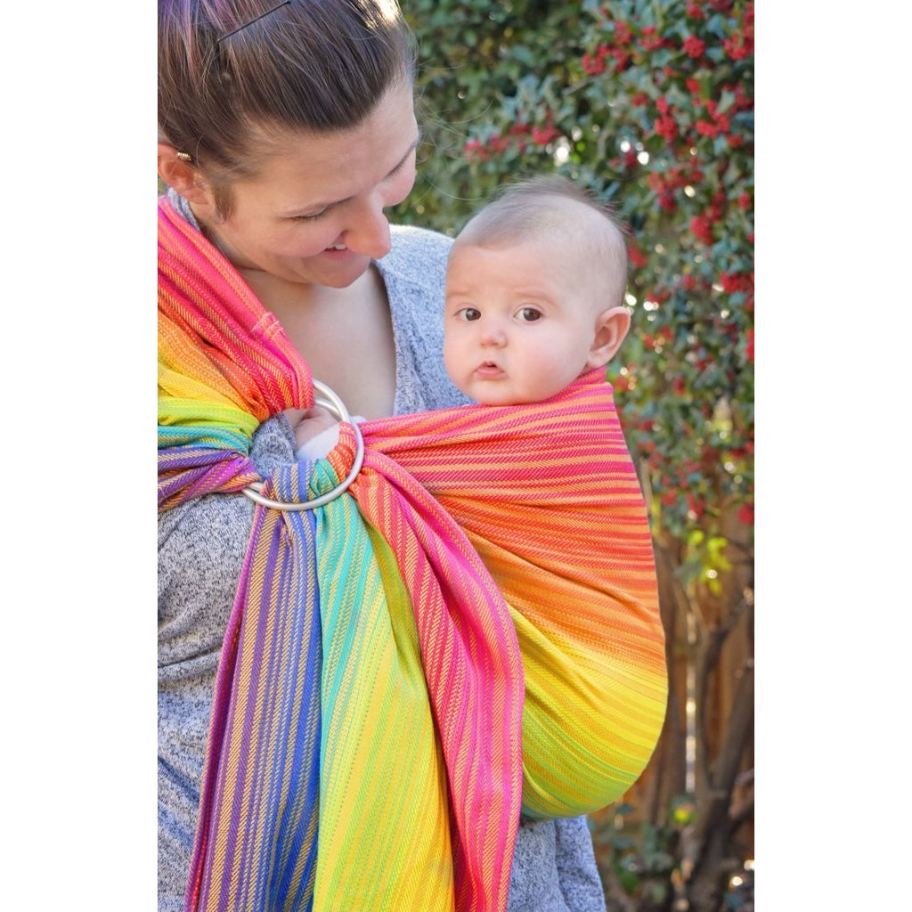 butterfly baby sweet shop yellow weft ring sling canada