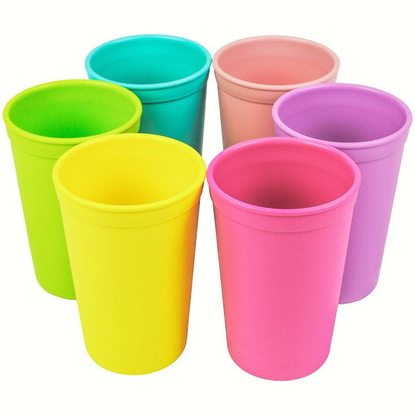replay recycled plastic tableware canada drinking cups stack.jpeg