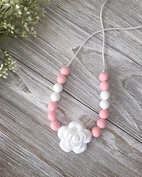 Kids' Flower Necklace by Little Cheeks
