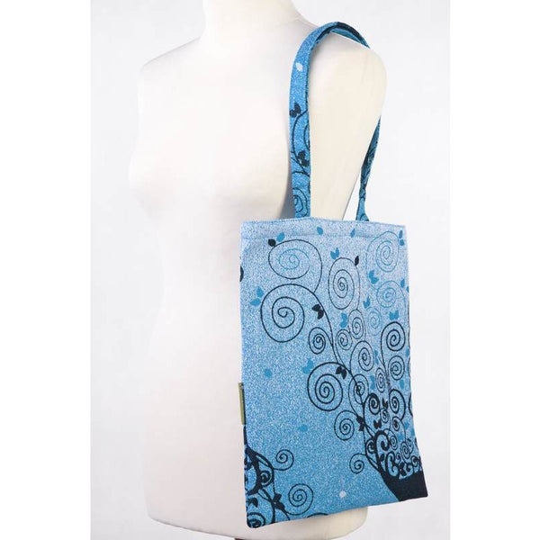 lenny lamb shopping bag blue princessa
