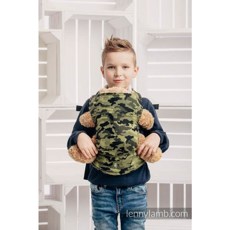 9e7a8bf86fa LennyLamb Doll Carrier - Green Camo – Snips   Snails Baby