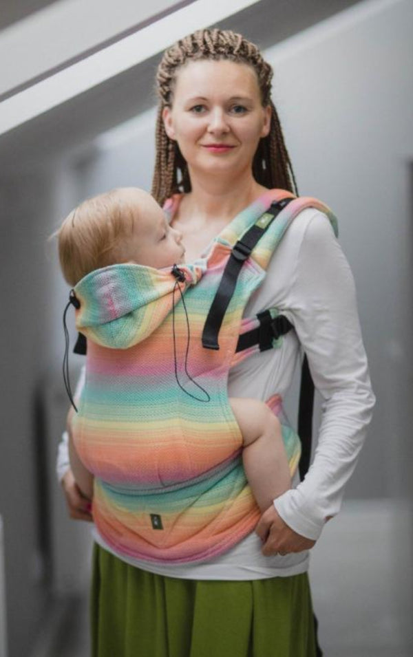 lenny lamb herringbone imagination baby carrier