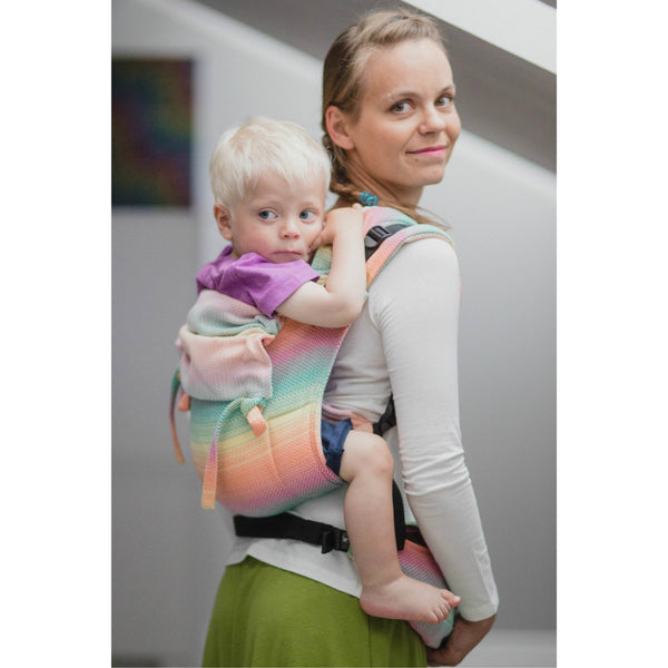 Lenny Lamb Onbu Baby Carrier Canada Little Herringbone Imagination