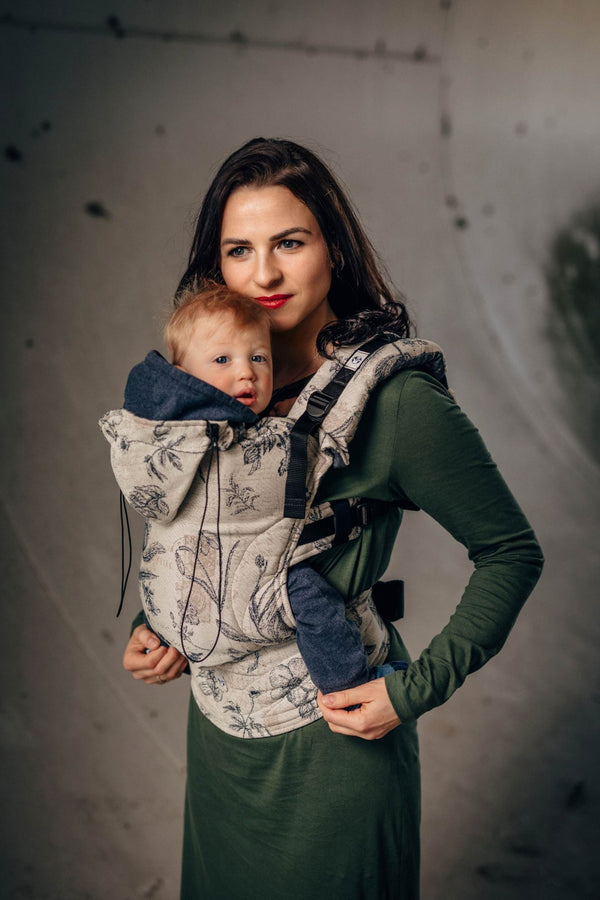 lenny lamb toddler carrier herbarium
