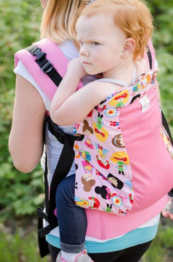 kinderpack supergirls baby carrier