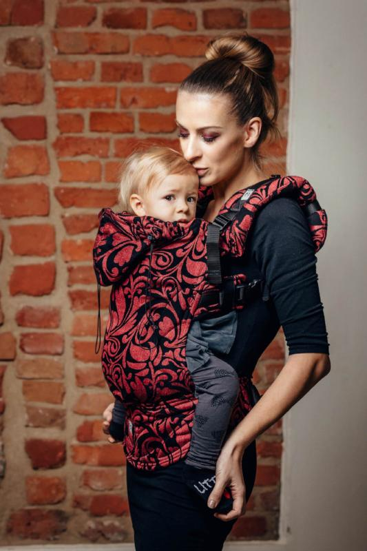 Lenny lamb baby carrier canada twisted leaves pinch of chili