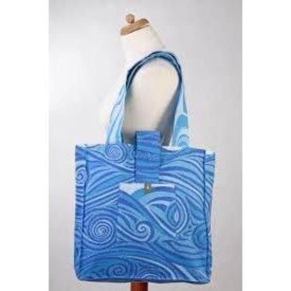 LennyLamb Shoulder Bag - Blue Waves