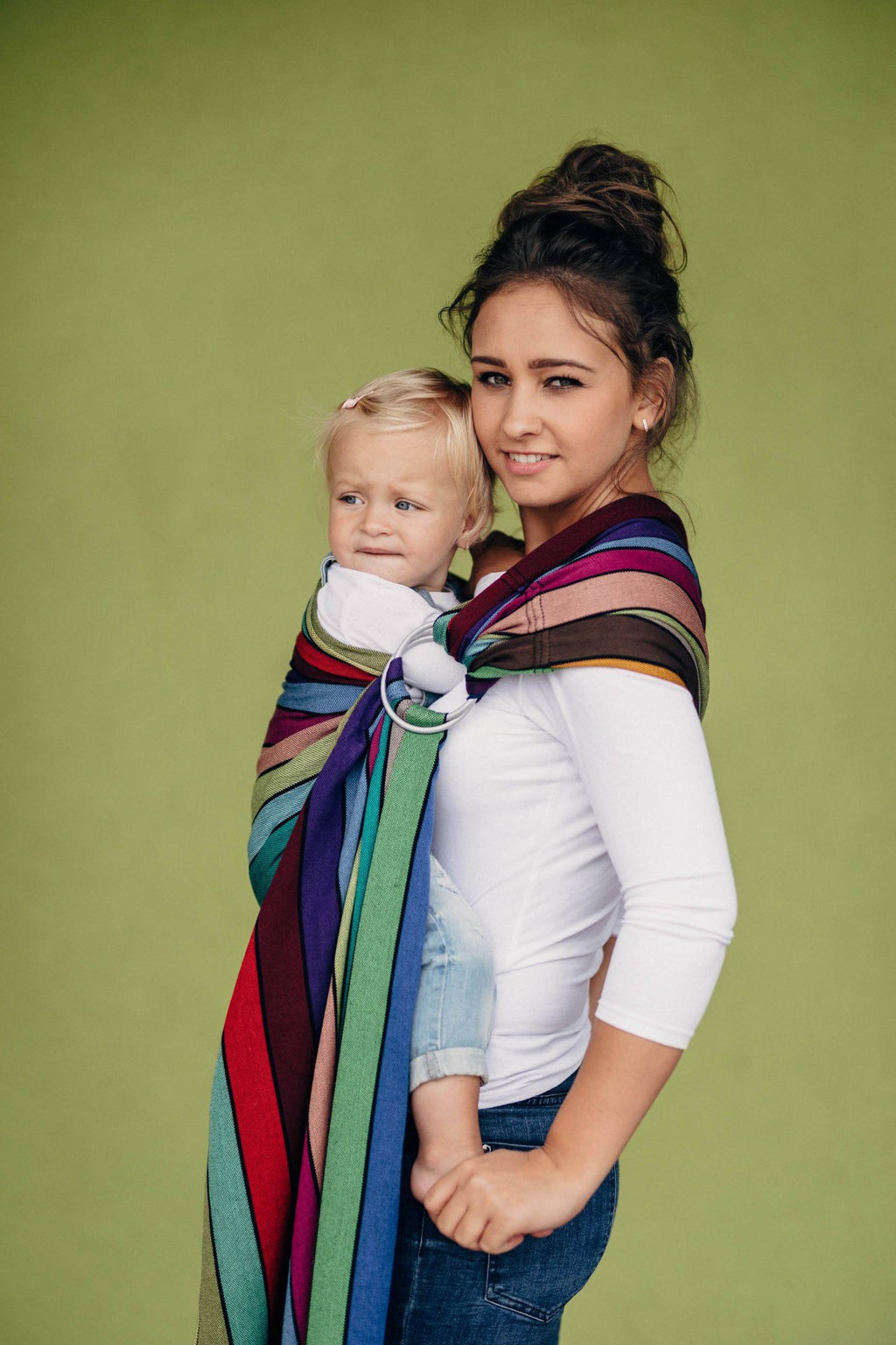 lenny lamb carousel of colors ring sling