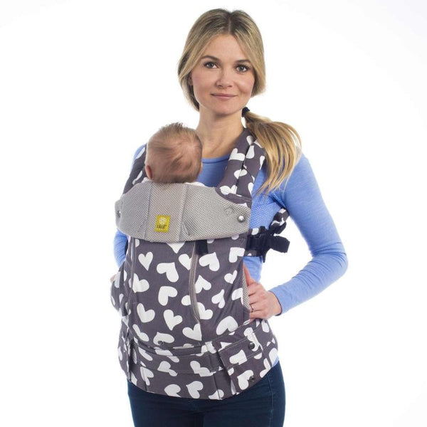 lillebaby hearts all over all-seasons baby carrier