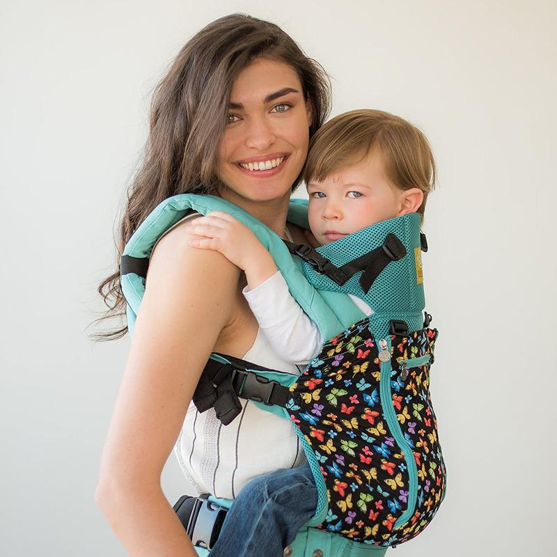 lillebaby all seasons baby carrier flutter
