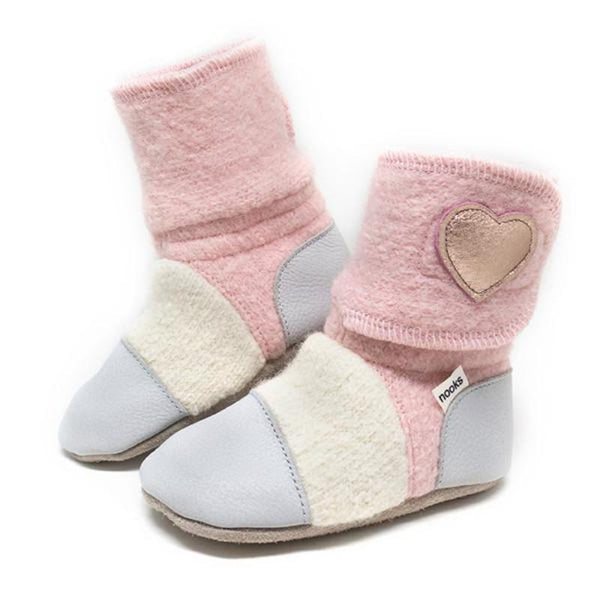 nooks booties canada snowberry
