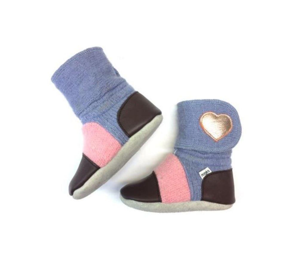 Nooks Booties for Baby & Toddler - Nebula