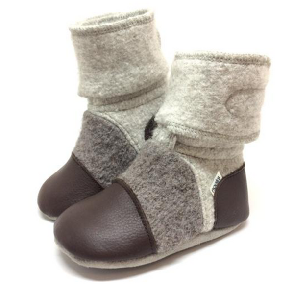 nooks booties driftwood