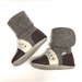 nooks designs baby booties caribou