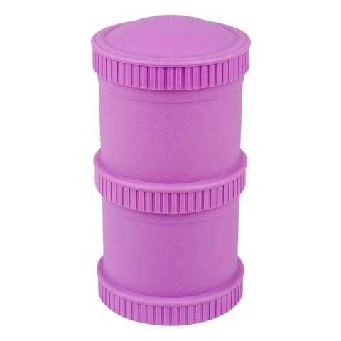 Re-Play Recycled Plastic Snack Stack, Assorted Colours