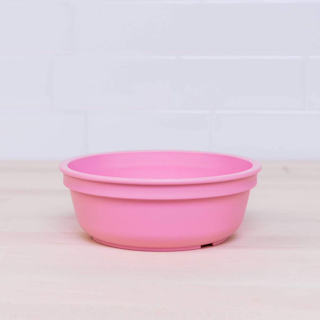 replay recycled plastic tableware bowl blush