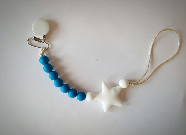 teething jewellery canada chewelry pacifier clip star
