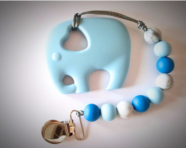 teething toys canada blue elephant teether