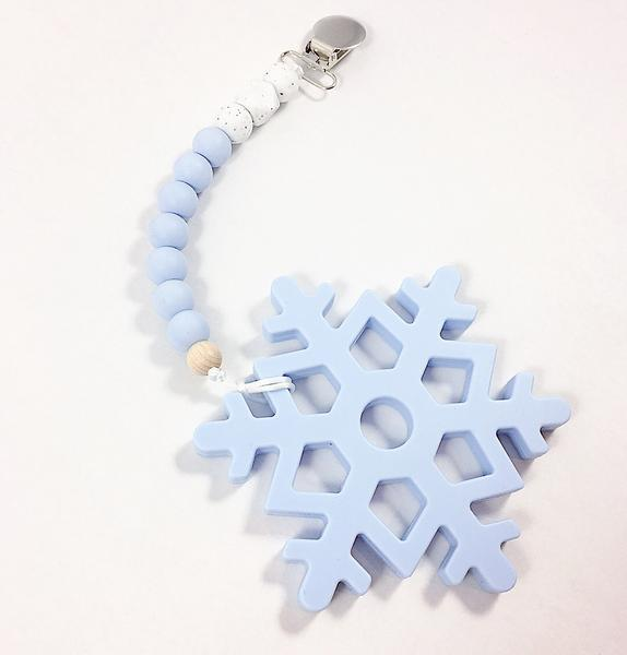 ... teething toys canada snowflake lilac teethers in canada blue silicone  snowflake b2f43153f