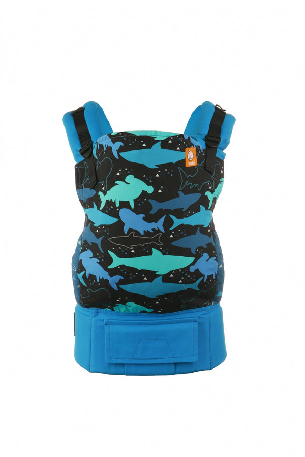 tula bruce shark baby carrier