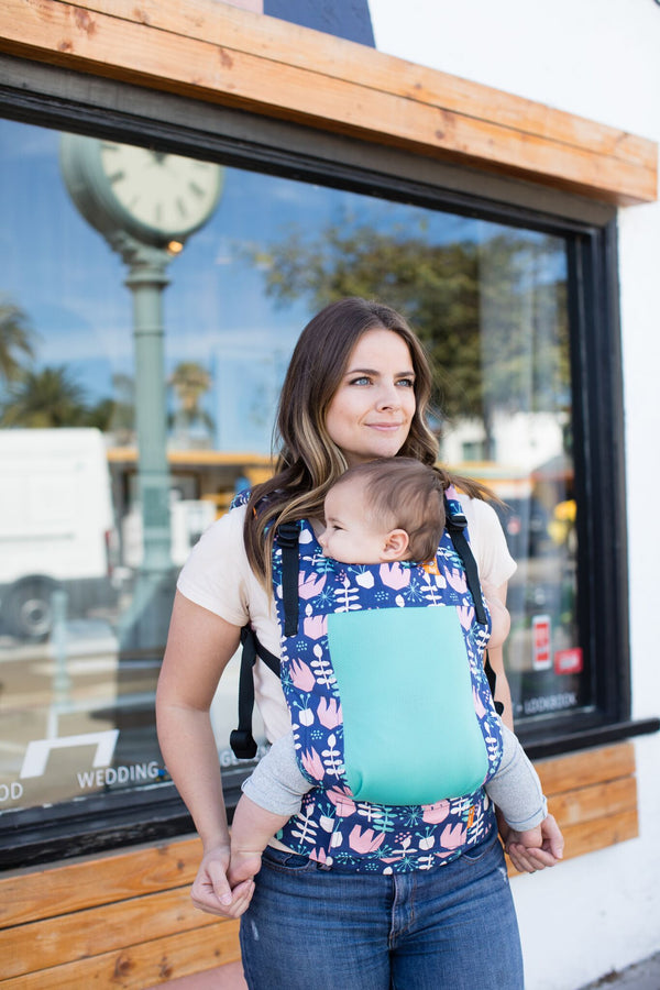 coast twilight tulip tula baby carrier