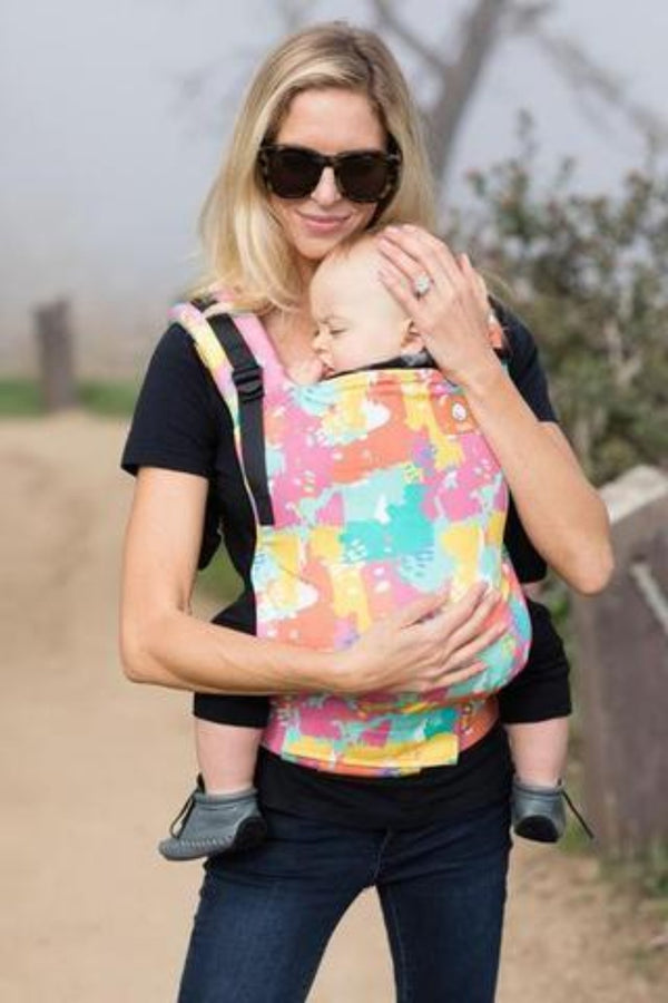 tula paint palette baby carrier