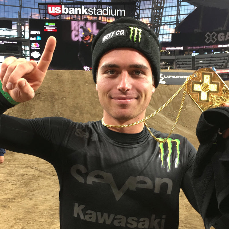 NEFF athletes spotted at X games!