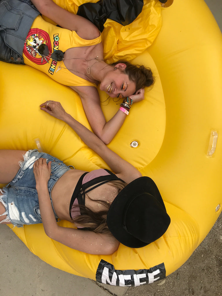 Lazy Days in the sun at Coachella
