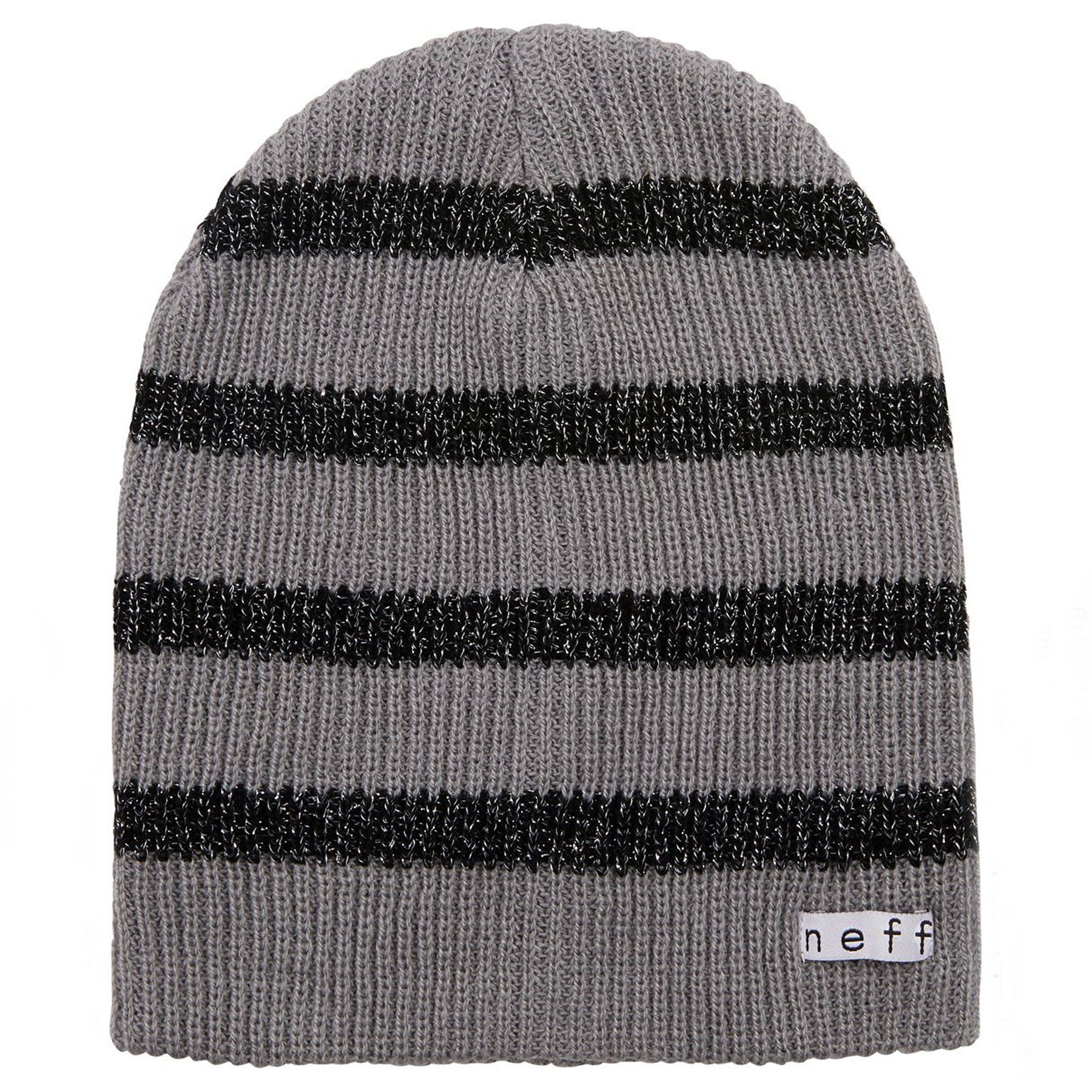 DAILY SPARKLE STRIPE BEANIE