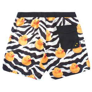 "TREND DUCK HOT TUB SHORTS 17"" - WHITE"