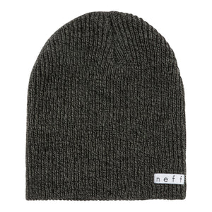 DAILY HEATHER BEANIE BLACK GREY